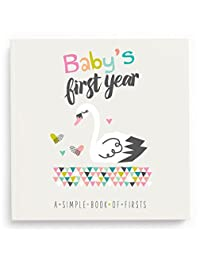 Lucy Darling Baby's First Year Memory Book: A Simple Book of Firsts - Little Love BOBEBE Online Baby Store From New York to Miami and Los Angeles