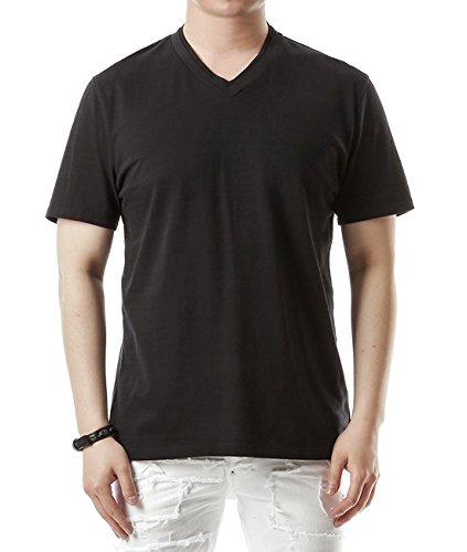 wiberlux-neil-barrett-mens-mini-thunder-print-v-neck-t-shirt-s-slim-fit-black
