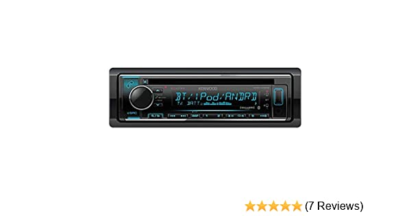 Kenwood KDC-X302 CD Receiver with Bluetooth Renewed