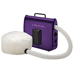 Laila Ali LADR5604 Ionic Soft Bonnet Dryer, Purple with White Bonnet