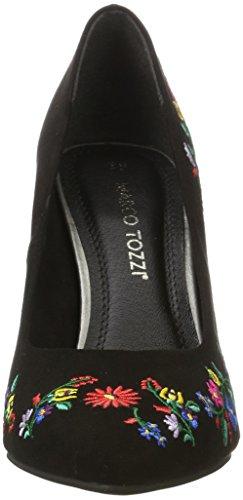 Marco Tozzi 22455, Zapatos de Tacón para Mujer Negro (Black Comb 098)