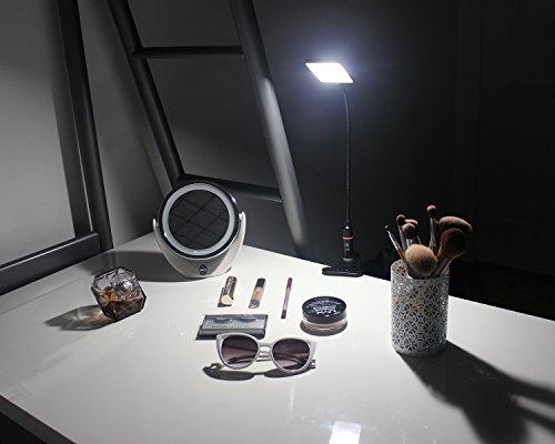LED Clip Lamp – 3 Brightness Mode – Sensor Touch – USB Plug & Adapter – Black by EazyClips (Image #6)
