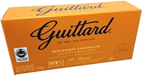 Baking Chips & Chocolate: Guittard Semi-Sweet Chocolate Baking Bars