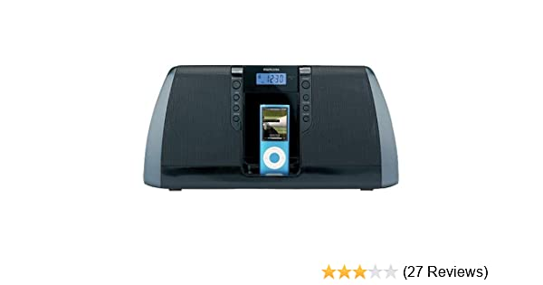 Amazon.com: Memorex Digital Audio System with iPod Dock (Black): Home Audio & Theater