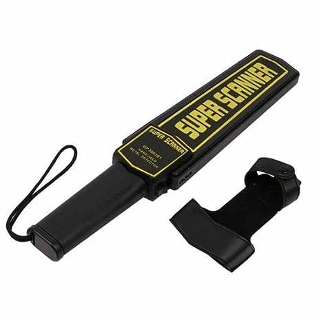 RC de Angel Seguridad Detector de metales de mano de escáner Holster móviles de manecillas Cuerpo de alerta: Amazon.es: Bricolaje y herramientas
