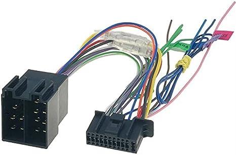 Sound Way Adapterkabel Iso Autoradio Kompatibel Mit Autoradio Kenwood 22 Pin Auto