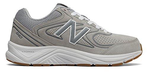 (ニューバランス) New Balance 靴?シューズ レディースウォーキング Suede 840v2 Grey with White グレー ホワイト US 13 (30cm)