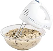 Hamilton Beach 62682RZ Hand Mixer with Snap-On Case, White (Renewed)