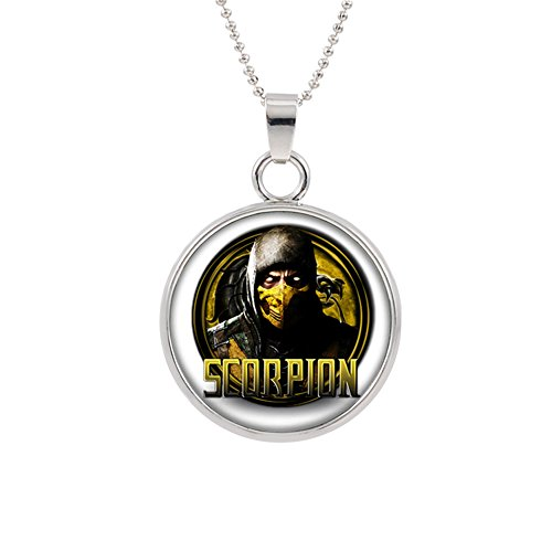 Athena Brands Mortal Kombat Fashion Novelty Pendant Necklace Console Game Series with Gift Box]()