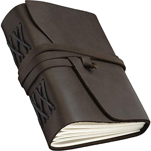 Leather Journal Men Women Personalized product image