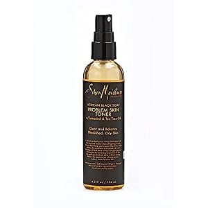 Shea Moisture African Black Soap Problem Skin Toner, 4.2 Ounce