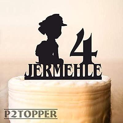 Decoración para tarta de la Patrulla Canina, decoración para ...