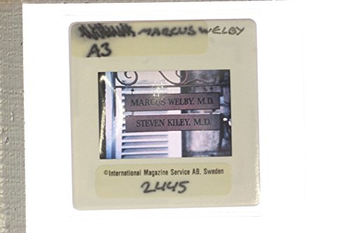 Slides photo of Medical office sign from Marcus Welby, M.D.