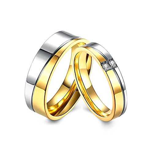 Tianyi+Stainless+Steel+Band+Ring+Promise+Ring+Valentine+Love+Couples+Wedding+Engagement+for+Men
