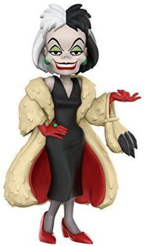 Funko Pop Disney Figura Rock Candy Cruella, Multicolor (21734)
