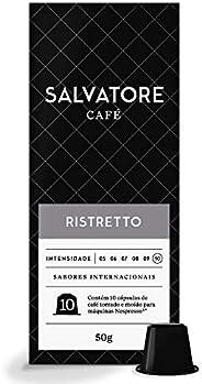 Cápsulas De Café Ristretto Salvatore, Compatível Com Nespresso, Contém 10 Cápsulas