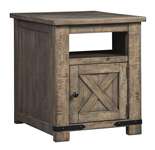 Signature Design by Ashley T837-3 Aldwin Rectangular End Table, 22