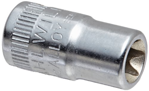 Stahlwille 40TX-E8 Steel External Torx Screwdriver Socket, 1/4