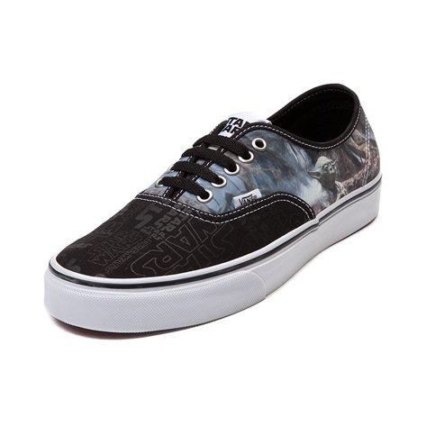 a527be91147c93 (バンズ) VANS 靴・シューズ スニーカー Vans Authentic Star Wars Yoda Skate Shoe Black
