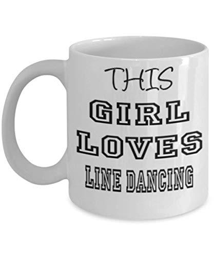 Happy Halloween Funny Gif - Funny Line Dancing Gifts 11oz Coffee