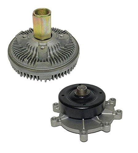 Price comparison product image Mac Auto Parts 134424 Dodge Ram 3.7L 4.7L New USM Water Pump & Fan Clutch US7163 22168