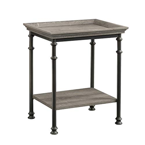 Sauder 419229 Canal Street Side Table, L 21.50 x W 17.48 x H 24.49 , Northen Oak finish