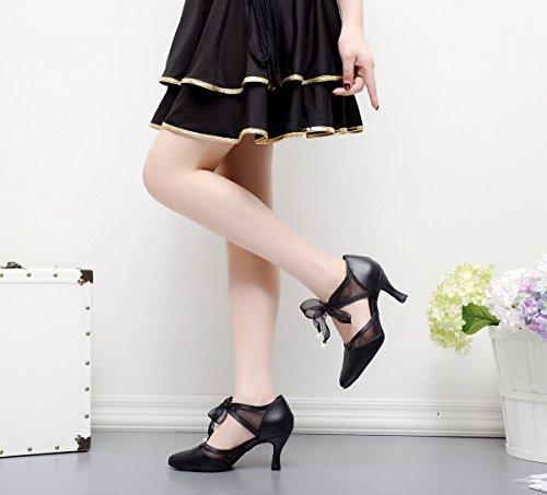 5cm Minitoo Salon Danse Heel Black femme 7 de zTWYrScT