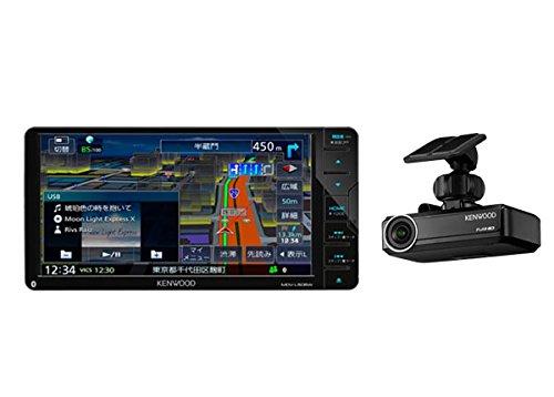 ケンウッド7型200mmフルセグBluetooth搭載地図更新1年間無料彩速ナビMDV-L505W+ナビ連携型ドライブレコーダーDRV-N530セット B07CWQ33QN
