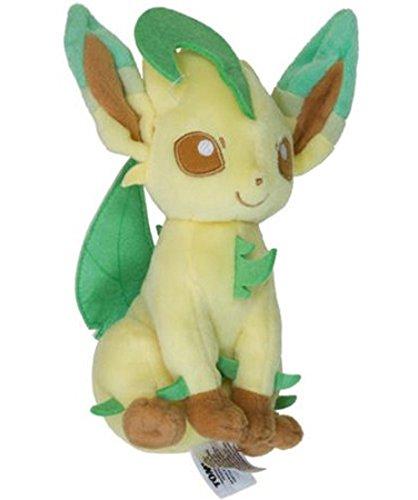 Leafeon ~9 Mini-Plush: Pokemon Evolution of Eevee Series