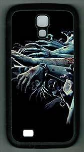 Samsung Galaxy S4 I9500 TPU Supple Shell Case Hands Black Skin by Sallylotus