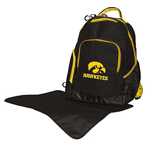 Lil Fan Diaper Backpack Collection, Iowa Hawkeyes by Lil Fan