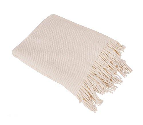 Fennco Styles Home Decor Faux Cashmere Soft Cozy Throw Blanket, 50