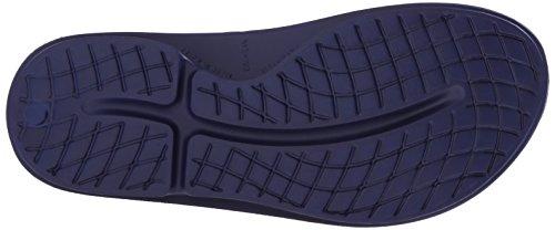 OOFOS de Sandales Navy Homme Bleu Sport Ooahh SwSfrHnBa