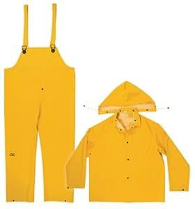 CLC Rain Wear .35MM 3-Piece Rain Suit Yellow - 3XLarge