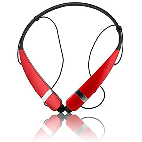 6ea40eef955 LG Tone Pro HBS 760 Wireless Stereo Headset - Red: Amazon.in: Electronics