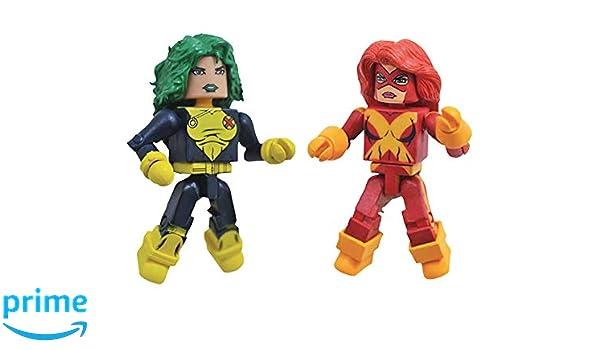 Marvel Minimates Series 78 X-Factor Cyclops /& Havok