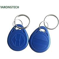YARONGTECH-100pcs EM 125KHz RFID Rewritable ID EM4305 Proximity Access control tag keyfobs