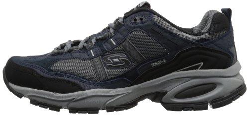 Skechers Sport Men's Vigor 2.0 Trait Memory Foam Sneaker, Navy/Grey, 7 M US by Skechers (Image #5)