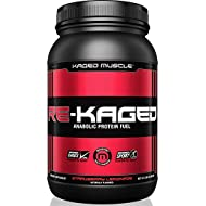 KAGED MUSCLE, RE-KAGED Whey Protein Powder, Whey, Strawberry Lemonade, Post Workout Recovery, BCAA's, EAA's, Creatine HCl, Glutamine, Betaine, Natural Flavors, Strawberry Lemonade, 20 Servings