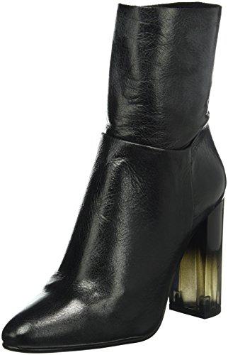 Buffalo London 4347 Groucho, Botines para Mujer Negro (BLACK 01)