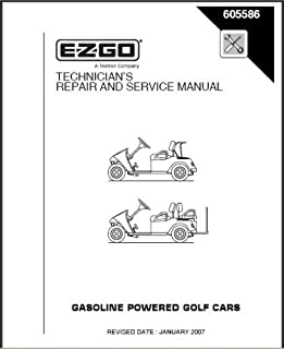 amazon com ezgo 19980g1 1984 1986 service manual for gas golf cars rh amazon com EZ Go Gas Engine Diagram EZ Go Parts Diagram