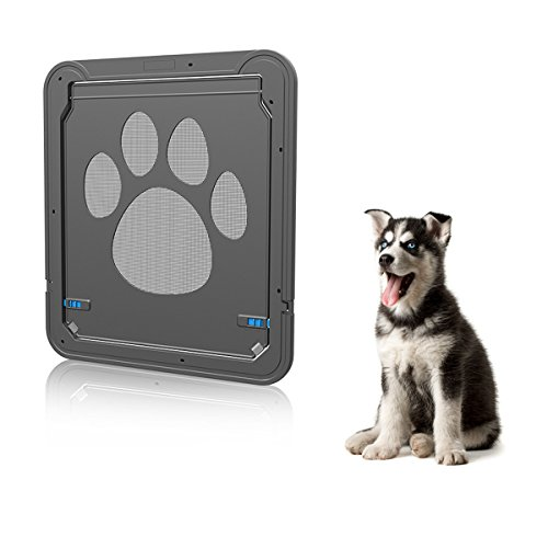 Belovelife Pet Screen Door Magnetic Flap Screen Automatic Lockable
