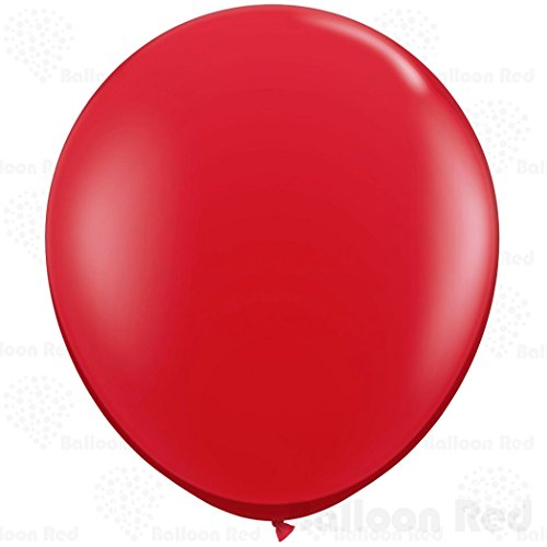 [27 Inch Giant Jumbo Latex Balloons (Premium Helium Quality), Pack of 12, Red] (Homemade Kids Halloween Costumes 2016)