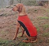 Waterproof Windproof Dog Rambler Coat Clothes with Fleece Lined Blanket (XXL, Red), My Pet Supplies