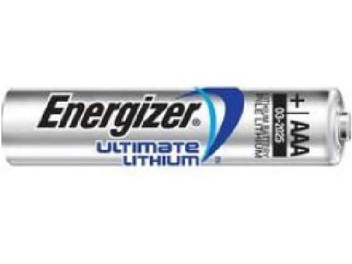 100 x AAA Energizer Ultimate Lithium (L92) Batteries