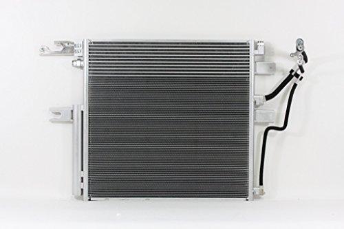 Dodge Ram 2500 A/c Condenser (A/C Condenser - Cooling Direct : For/Fit 3886 Dodge RAM 2500 6.7L Ram 3500 Ram 3500 6.7L WITH BUILT IN TRANSMISSION OIL COOLER ONLY 55057091AC)