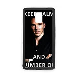 Benedict Cumberbatch Samsung Galaxy Note 4 Cell Phone Case Black JT3858194831