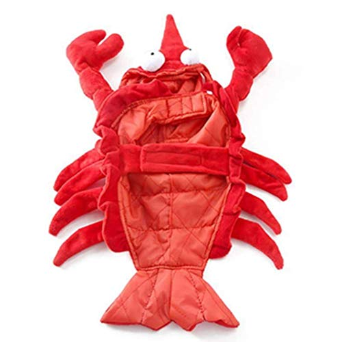 Adtop Pet Dog Funny Clothes Costumes Red Lobster