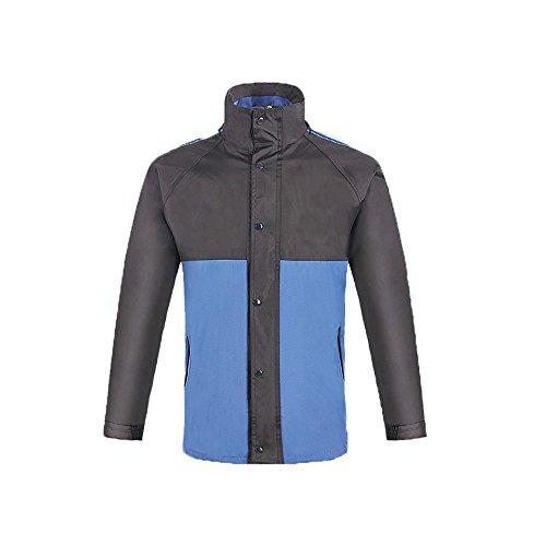 Per Nero E Pantaloni Donna Con dimensione Blu Uomo Xl Giacca Esterna Tuta Colore Impermeabile Antipioggia Zhangcaiyun wPqtIx7n