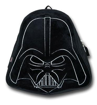 "Star Wars Darth Vader (11"") Mini Toddler Preschool Backpack (Plush Front)"